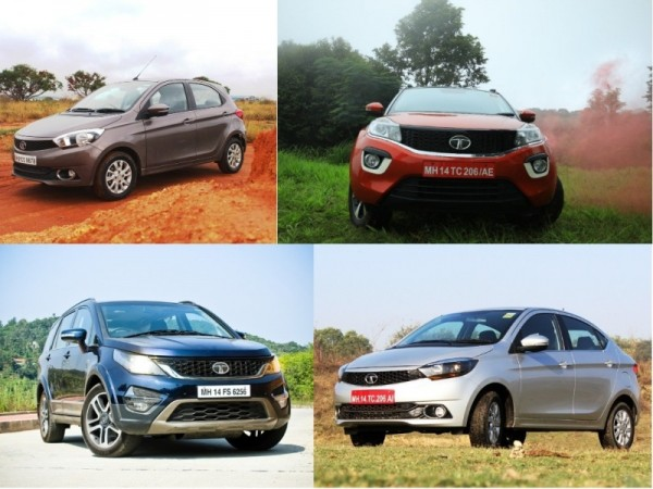 Tata Motors Impact models- Tiago, Tigor, Hexa, Nexon