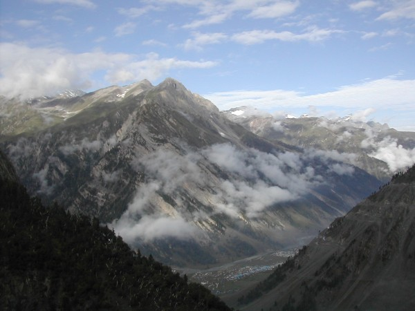 Zojila Pass view