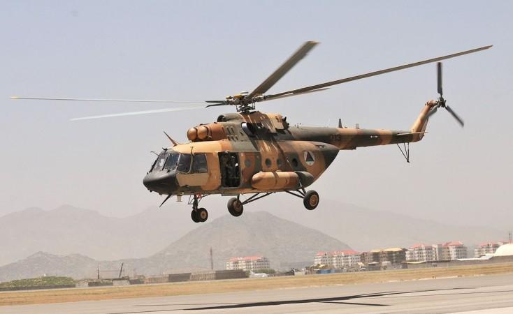 Mi-17 chopper