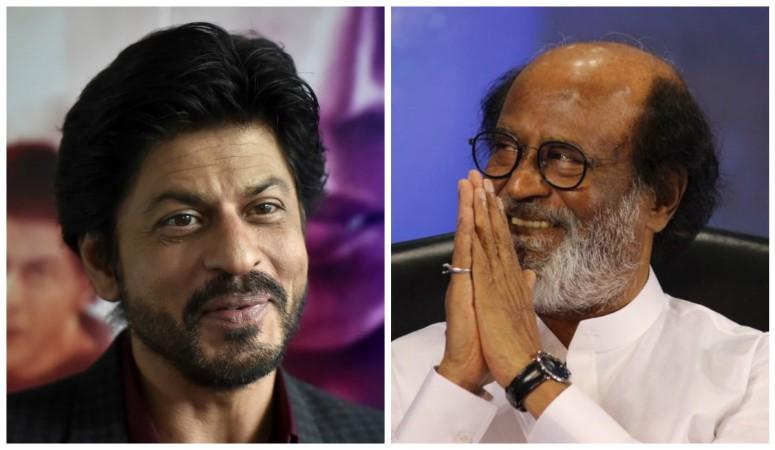 Shah Rukh Khan and Rajinikanth