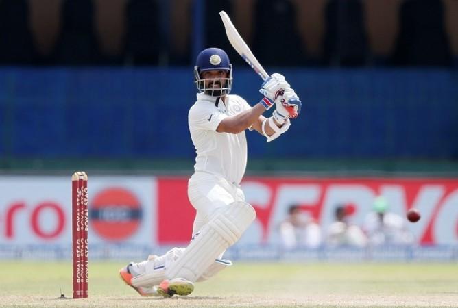 Ajinkya Rahane, India, Sri Lanka, 2nd Test, day one