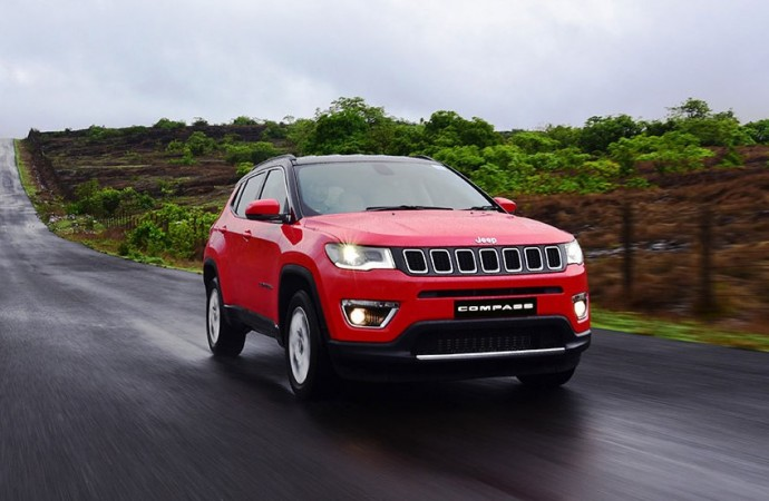 Jeep Compass Gets A Flying Start In India Sees 116 Growth In