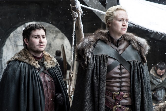 Gwendoline Christie and Daniel Portman in a still from Ep 4 'Spoils of War'