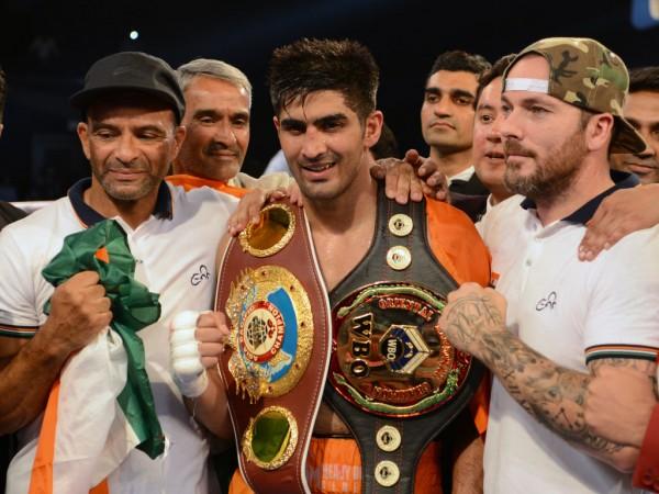 Vijender Singh, India vs China, Boxing