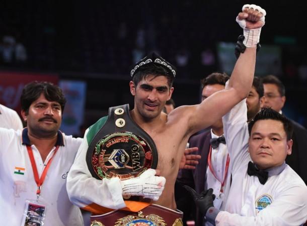 Vijender Singh, India boxer, India boxing