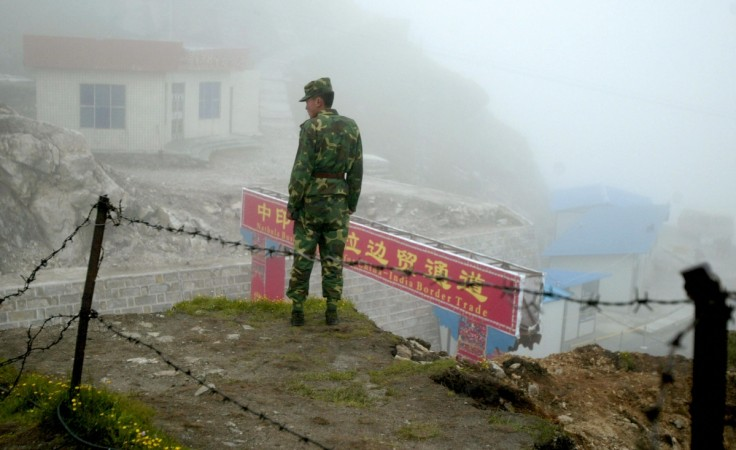 India China border