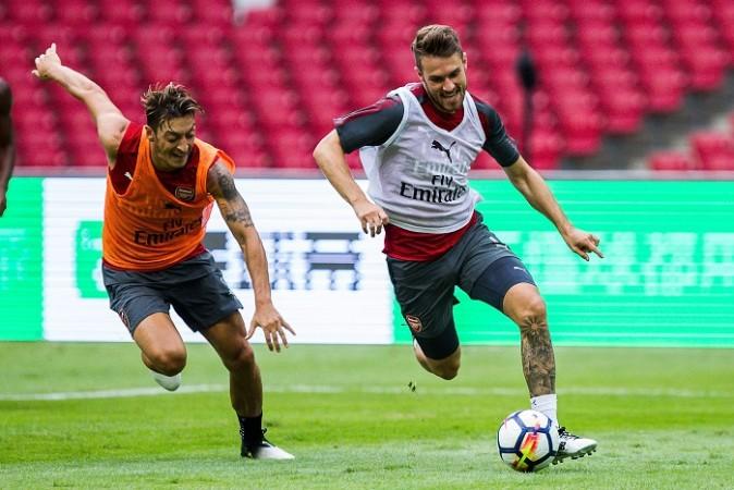 Mesut Ozil, Aaron Ramsey, Arsenal