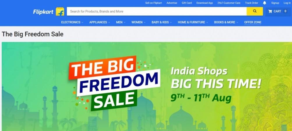 Flipkart, The Big Freedom Sale, best smartphone offers, best LED TV offers