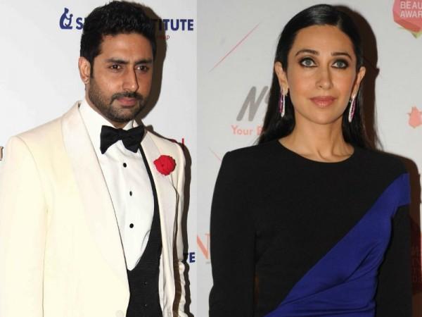 Abhishek Bachchan and Karisma Kapoor