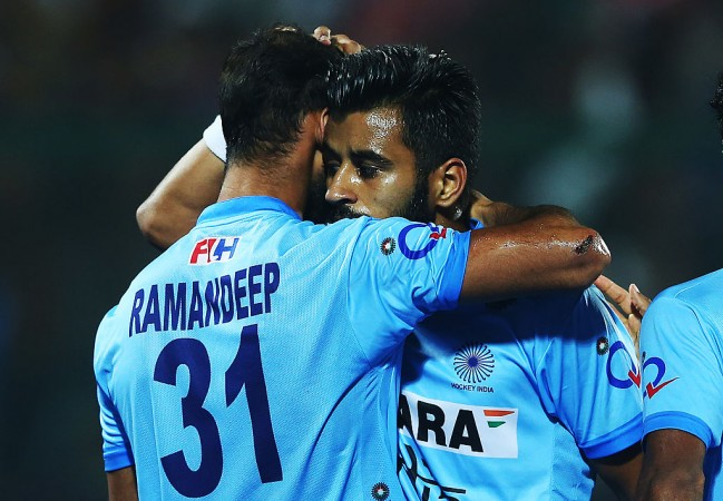 Ramandeep Singh, Manpreet SIngh, India hockey