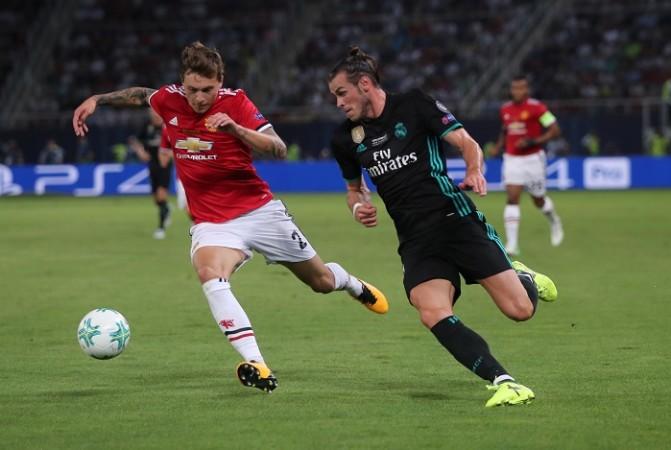 Victor Lindelof, Manchester United, Gareth Bale, Real Madrid, UEFA Super Cup