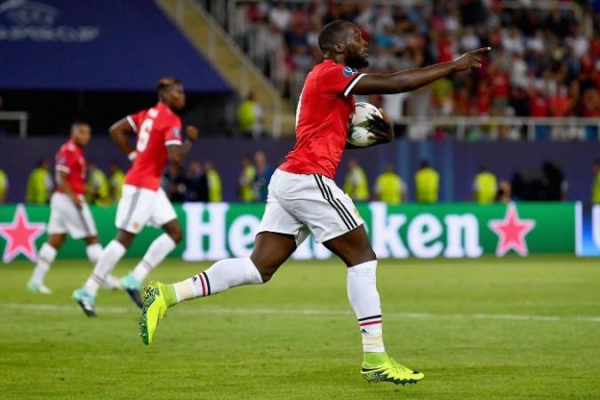 Romelu Lukaku, Manchester United, UEFA Super Cup