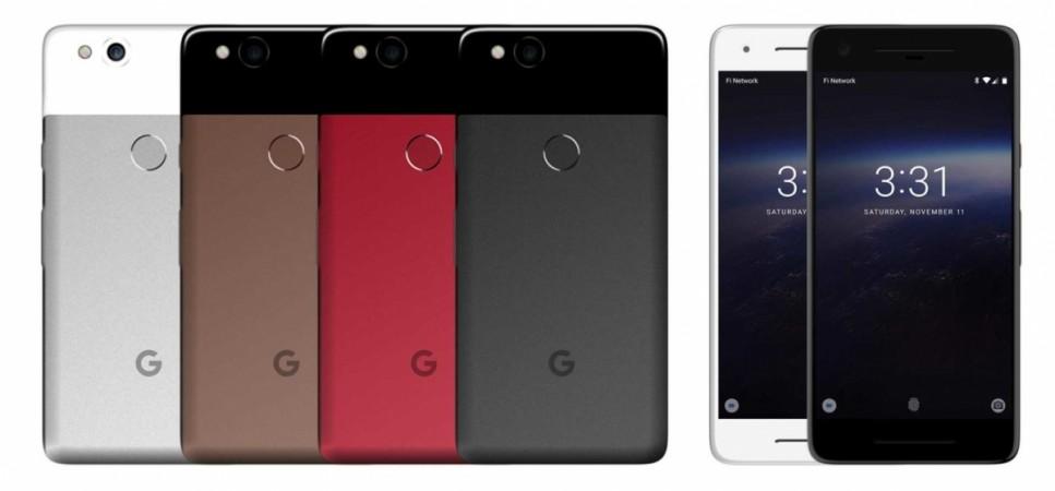 Google Pixel 2 leaked renders