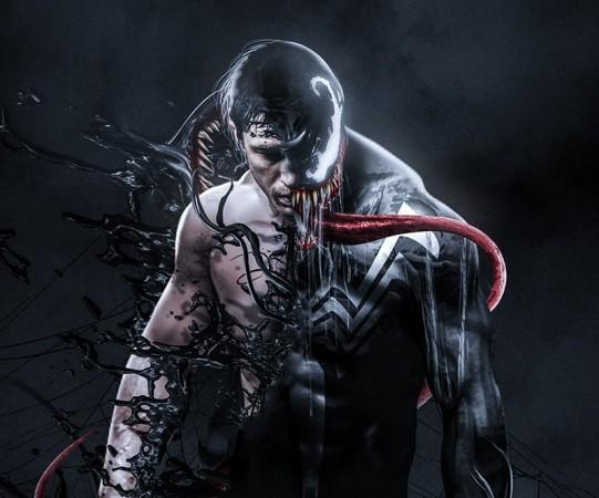 Tom Hardy's Venom movi...