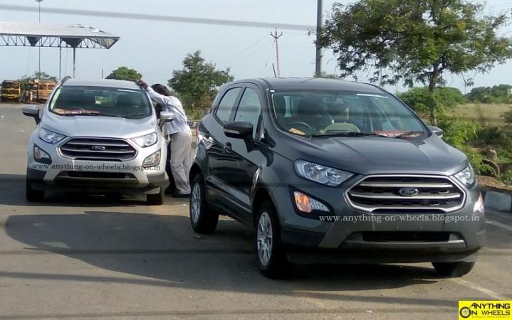 Ford Ecosport Facelift Ford Ecosport Facelift New Ford Ecosport Facelift India