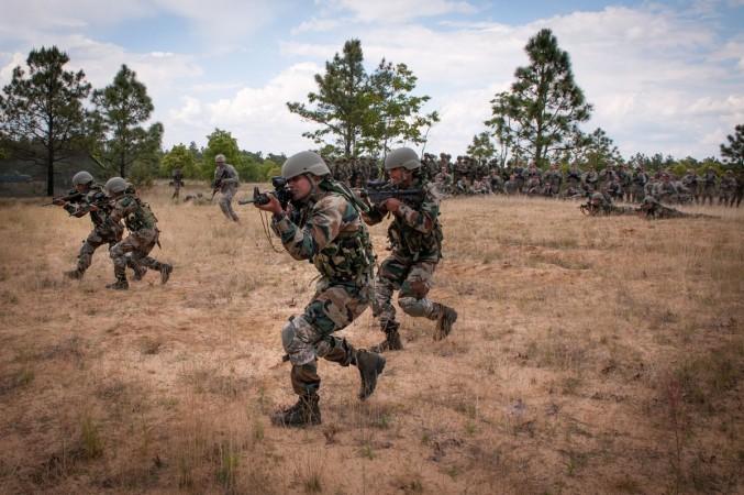 Indian army at border