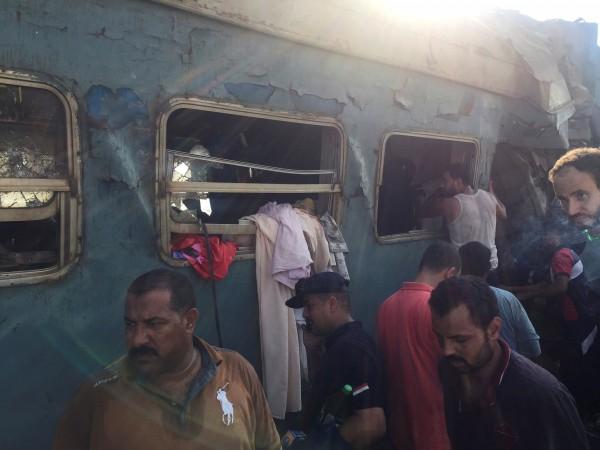 Egypt Train Accident