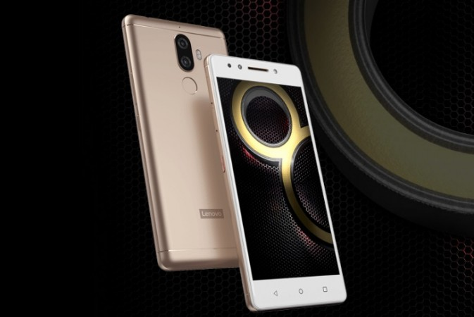 Lenovo K8 Note as seen on the company's official website