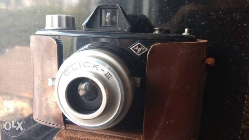 1947 Agfa Click II camera manufactured by the Agfa company in Munich German