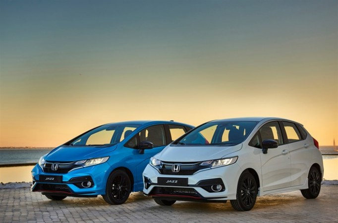 New Honda Jazz facelift, New Honda Jazz facelift images, New Honda Jazz facelift India