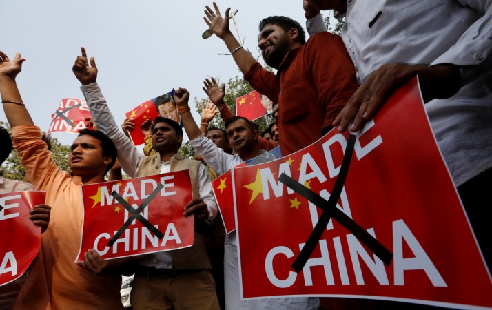 made in China India