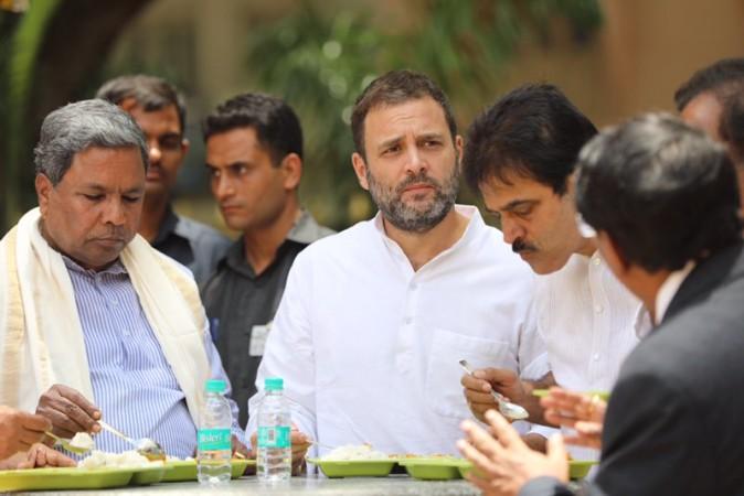 Rahul Gandhi flubs Indira Canteen, calls it Amma Canteen