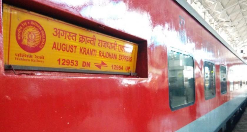 August Kranti Rajdhani Express