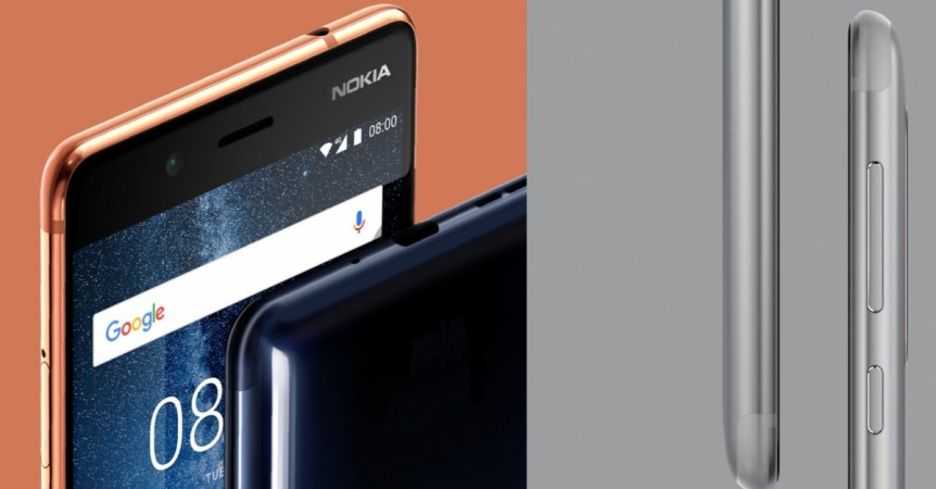 Nokia 8 as seen on its official site