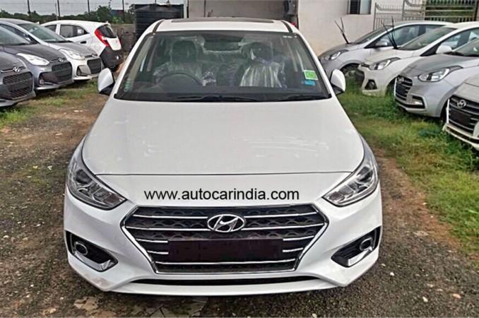 2017 Hyundai Verna India Price