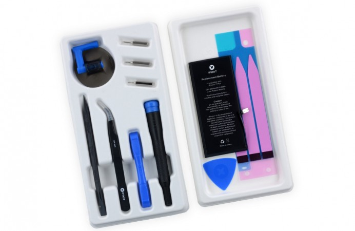 iFixit's kit for fixing iPhone battery