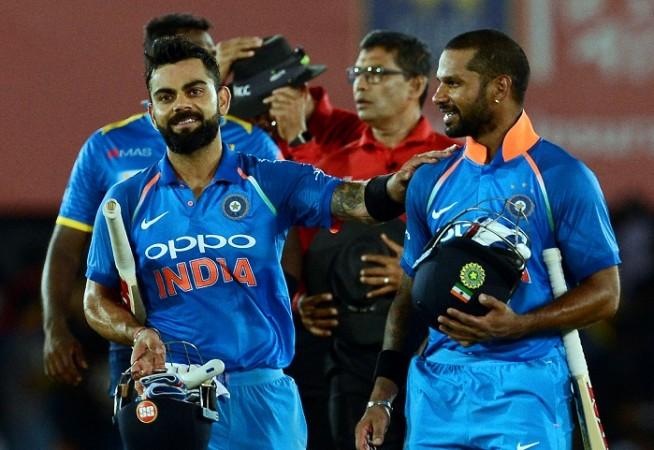 Virat Kohli, Shikhar Dhawan, India, Sri Lanka, 1st ODI
