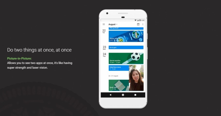 Google, Android Oreo, Picture-in-Picture,