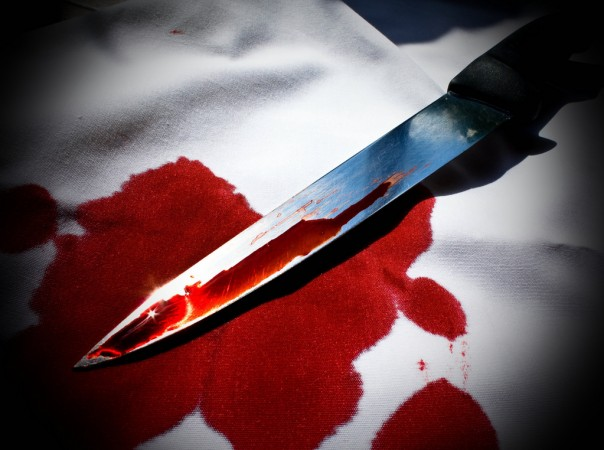 Wife stabs ex-hockey player