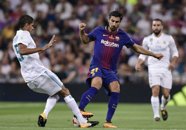 Andre Gomes, Manchester United, Barcelona,