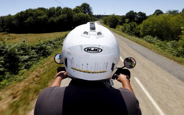 Helmet, biker helmet