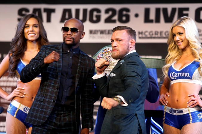 how to watch mayweather mcgregor live