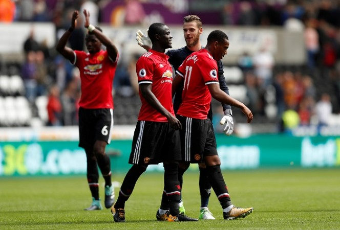 Eric Bailly, David De Gea, Anthony Martial, Manchester United, Premier League