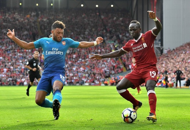 Alex Oxlade-Chamberlain, Arsenal, Sadio Mane, Liverpool, Premier League