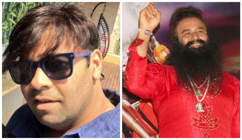 Kiku Sharda and Gurmeet Ram Rahim Singh