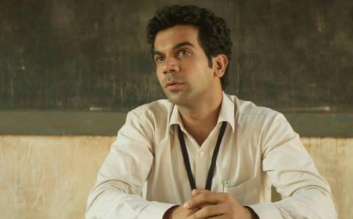 Rajkummar Rao in and as Newton