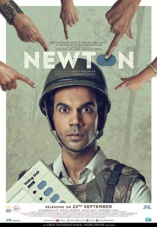 Rajkummar Rao in Newton