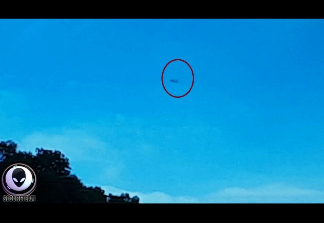 ufo, spotted, Germany, weird,