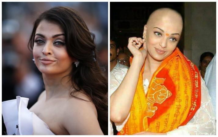 Fake morphed bald photo of Aishwarya Rai Bachchan goes viral on social media; see pic - IBTimes India
