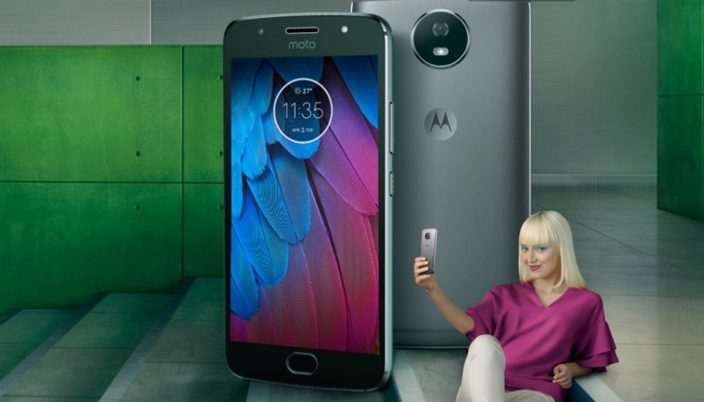Motorola Moto G5s Plus as seen on its website