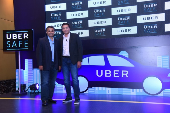 Pradeep Parameswaran, Head of Central Operations and Apurva Dalal (R), Head of Engineering at Uber India in Bengaluru on August 31, 2017.