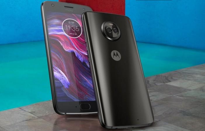 Motorola Moto X4 as seen on its website