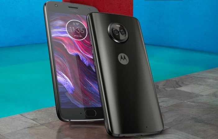 Motorola Moto X4 as seen on its website