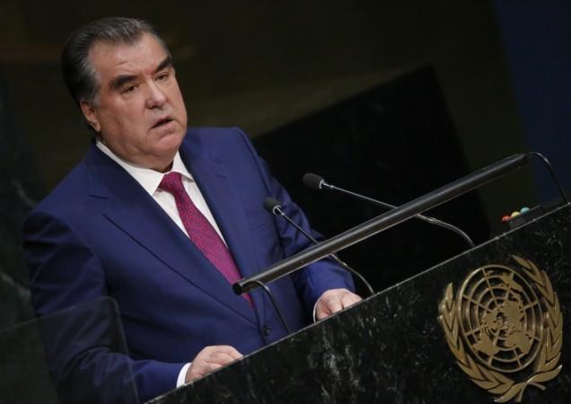 Tajikistan President Emomali Rahmon