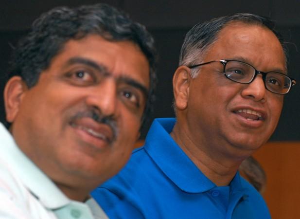 Narayana Murthy and Nandan Nilekani