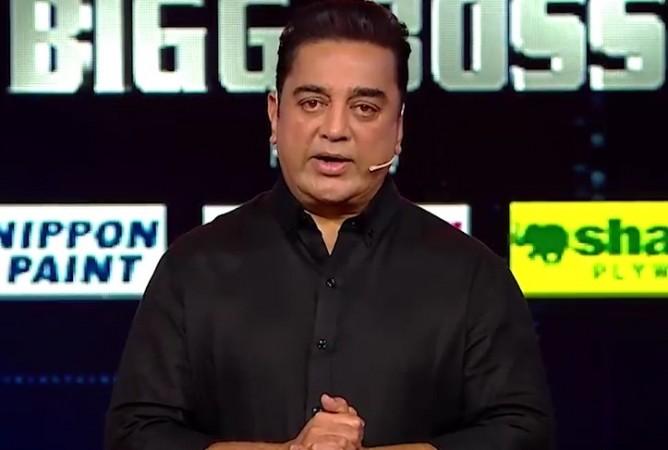 Kamal Haasan in Bigg Boss Tamil